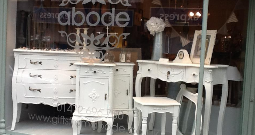 A photography of Abode shop front