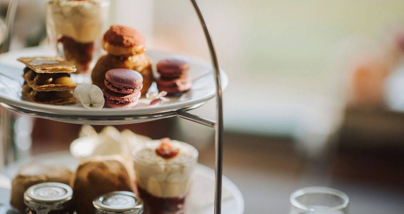 Afternoon tea available at Healing Manor