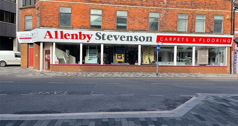 Photograph of Allenby Stevenson's shop front