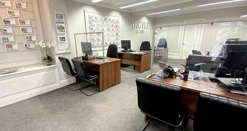 Argyle Estate Agents desks