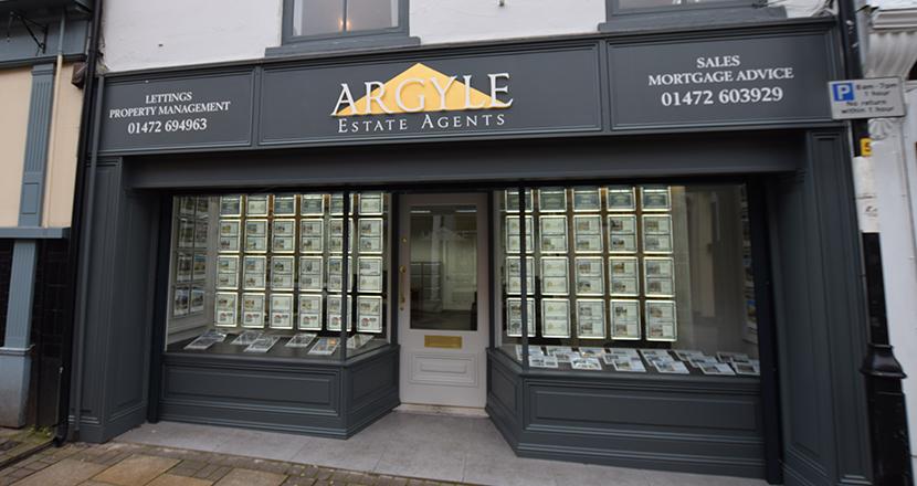 A photograph of Argyle Estate Agents building