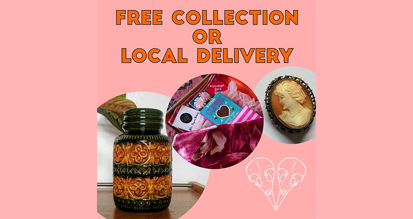 Free collection of Local Delivery notice