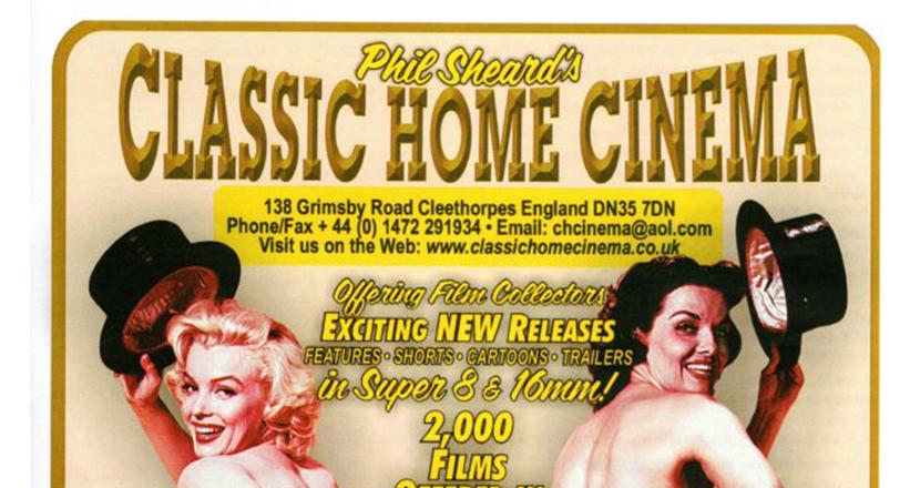 Classic Home Cinema advert