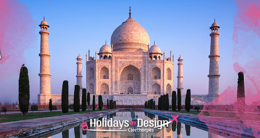 A photpgraph of the Taj Mahal