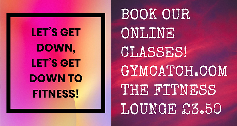The fitnes Lounge offer - Online gym classes for £3.50 on gymcatch