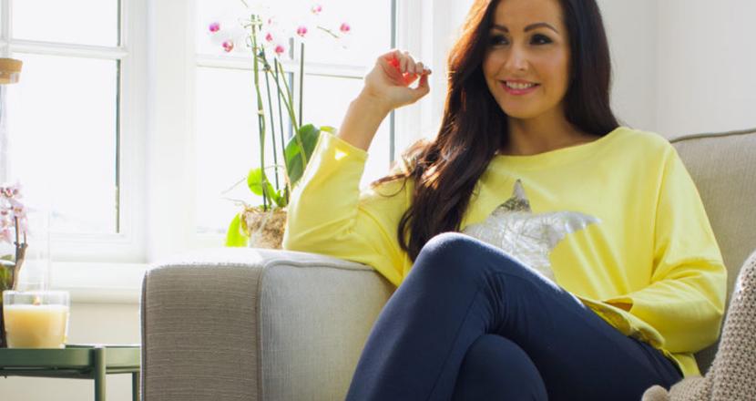 Female model wearing Tilletts clothing