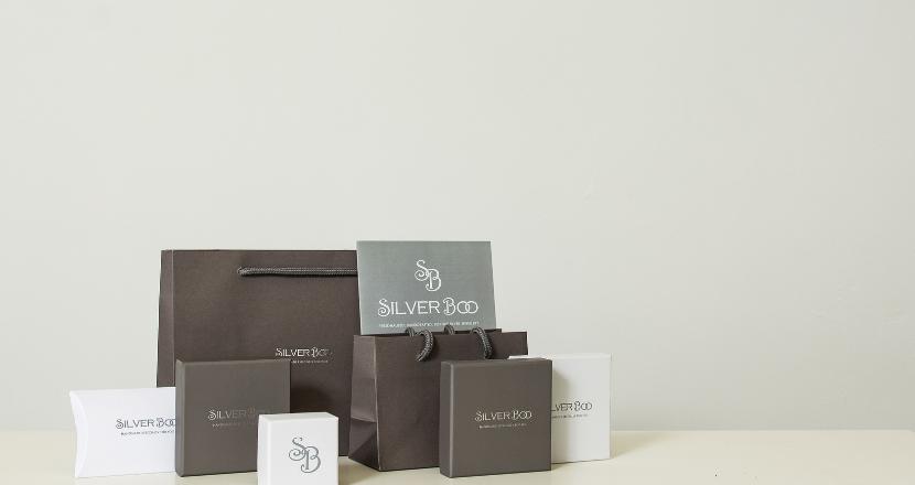 silverboo jewellery packaging
