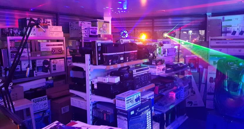 sound and light equipment