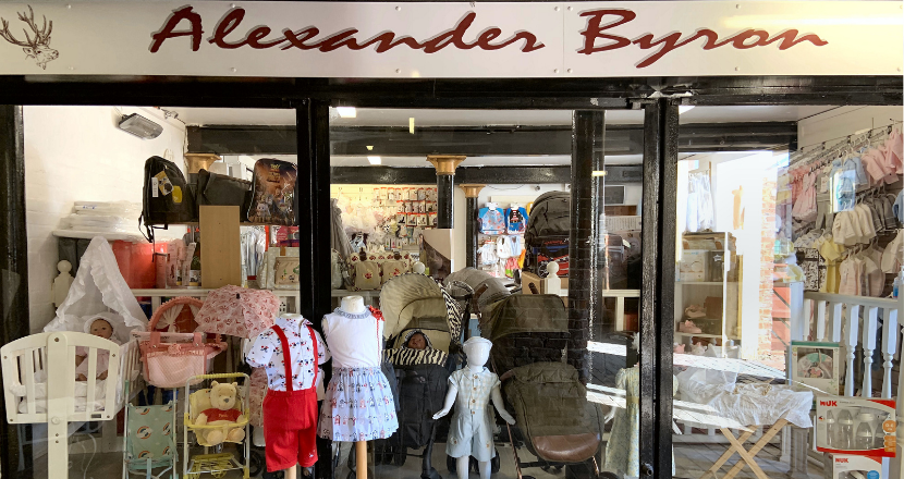 Alexander Byron store front