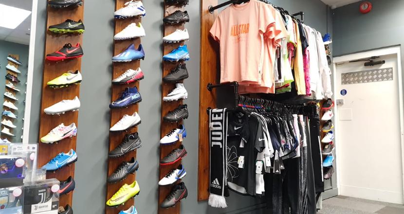 inside boot room shop