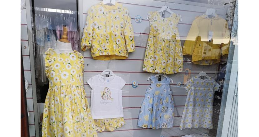 Greenswear shop window display