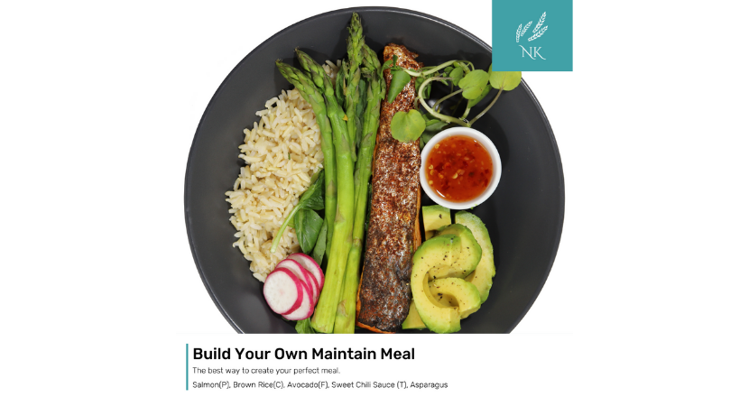 Build your own meal offer