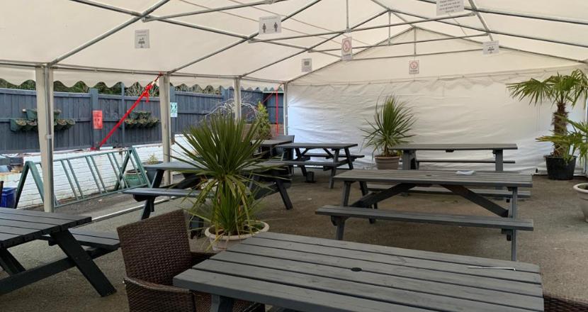 the tiled barrel pub
