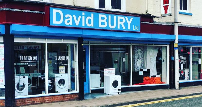 David Bury shop front
