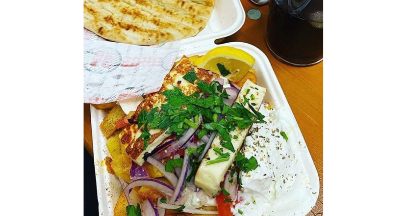 food from the Greek Shack