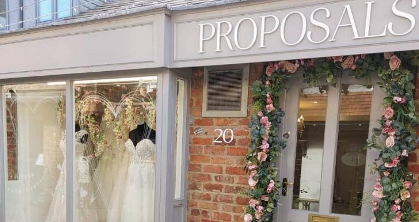Proposals shop front